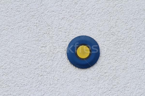 button on grunge wall Stock photo © taviphoto