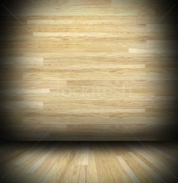 Abstract hout cabine textuur Stockfoto © taviphoto