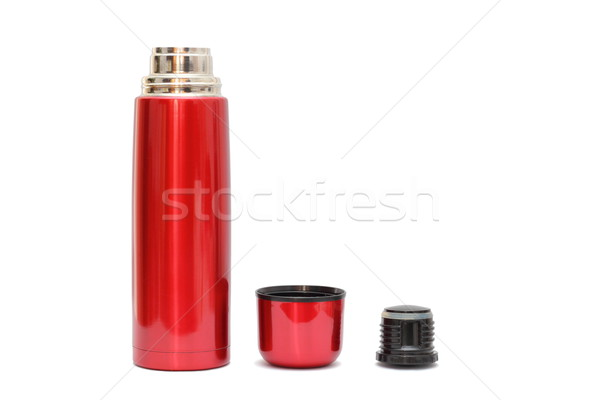 red thermo bottle Stock photo © taviphoto
