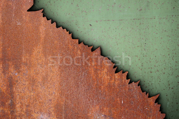 rust on metal surfaces Stock photo © taviphoto