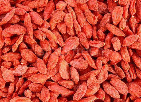 textured goji berries Stock photo © taviphoto