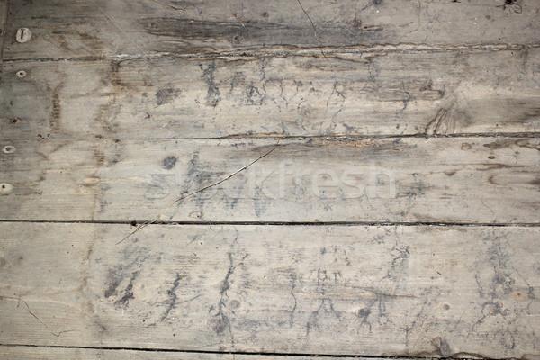 Seminterrato piano vecchio attaccare legno Foto d'archivio © taviphoto