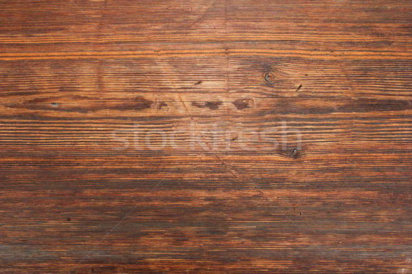 Stock photo: beautiful brown spruce texture