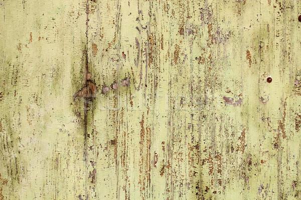 öreg viharvert festék fából készült felület fal Stock fotó © taviphoto