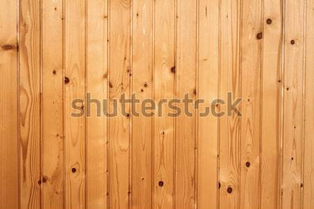 spruce boards mounted on wall Stock photo © taviphoto