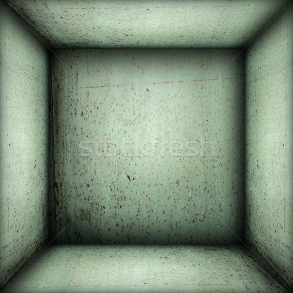 industrial interior green backdrop Stock photo © taviphoto
