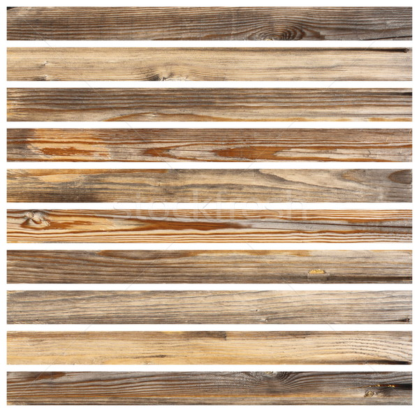 isolated wood planks for floor design Stock photo © taviphoto