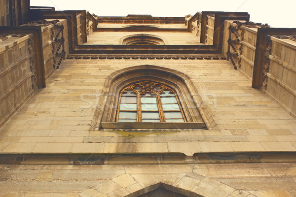detail of gothic church facade Stock photo © taviphoto