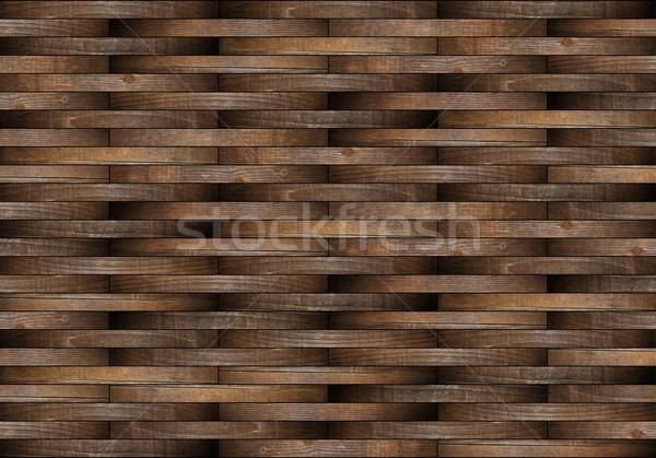 mounted wooden floor illustration Stock photo © taviphoto