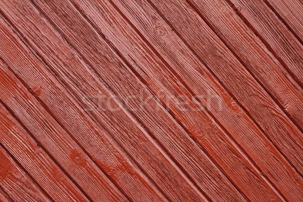 Rosolare abete rosso verniciato muro natura Foto d'archivio © taviphoto