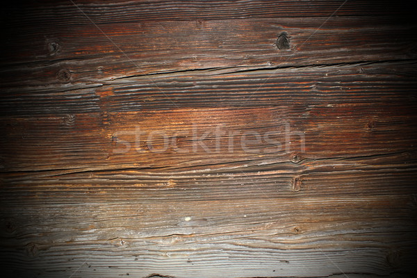 ancient spruce wooden boards Stock photo © taviphoto