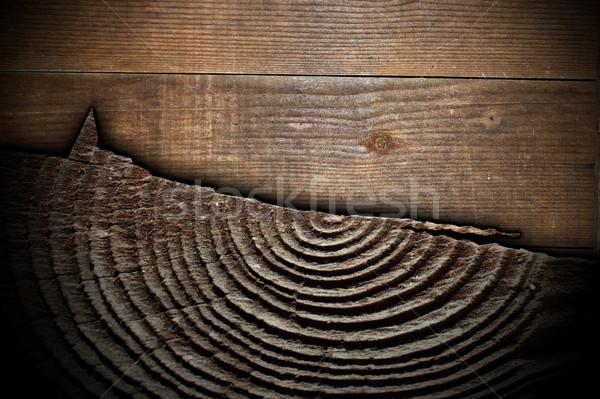 Foto stock: Interessante · madeira · texturas · cortar · árvore · resistiu