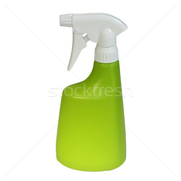 plastic water sprayer over white Stock photo © taviphoto