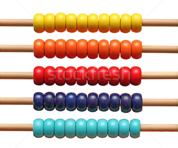 colorful abacus detail Stock photo © taviphoto