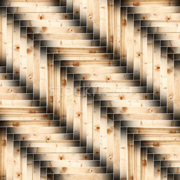 Enfeitar azulejos textura madeira abstrato Foto stock © taviphoto