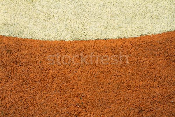 Disordinato sporca vecchio tappeto due diverso Foto d'archivio © taviphoto
