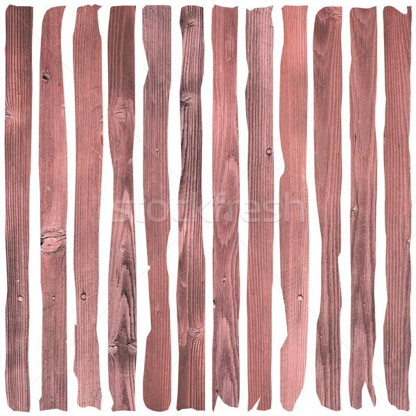 reddish wooden planks Stock photo © taviphoto