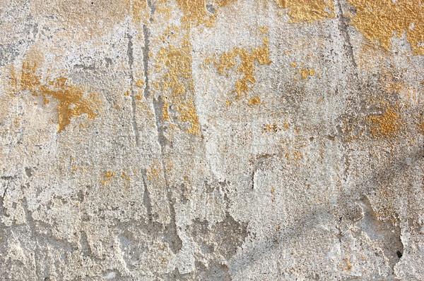 Foto stock: Capeado · yeso · real · textura · fachada · antigua · casa