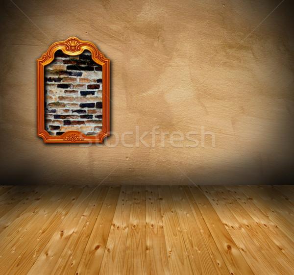 interior with grunge wall Stock photo © taviphoto