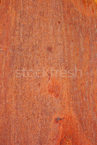 grungy rust on metallic surface Stock photo © taviphoto