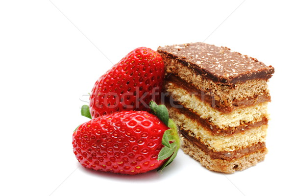 confection and strawberries Stock photo © taviphoto