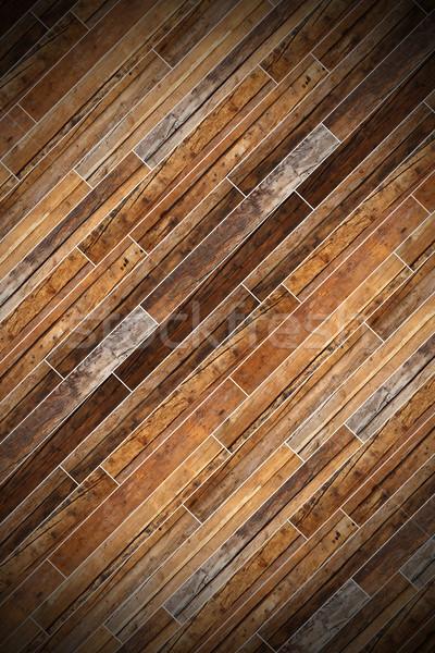 beautiful wooden parquet Stock photo © taviphoto