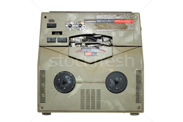old damaged analog recorder Stock photo © taviphoto