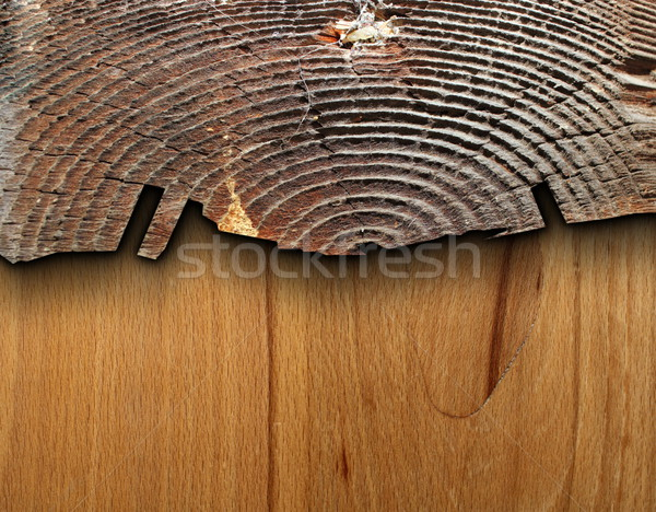 interesting combined wood texture Stock photo © taviphoto