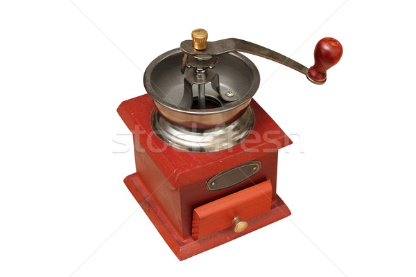 coffee grinder over white Stock photo © taviphoto