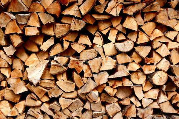 fire wood Stock photo © taviphoto
