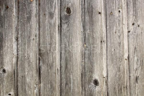 Koszos igazi lucfenyő deszkák textúra öreg Stock fotó © taviphoto