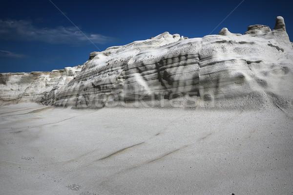 Részlet kő sziget tengerpart tájkép nyár Stock fotó © taviphoto