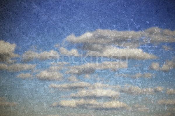 Abstrato blue sky fundo velho pintura dois Foto stock © taviphoto