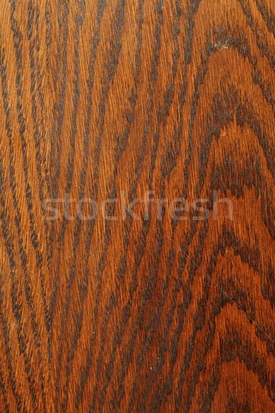 Barna tölgy mintázott furnérlemez öreg bútor Stock fotó © taviphoto
