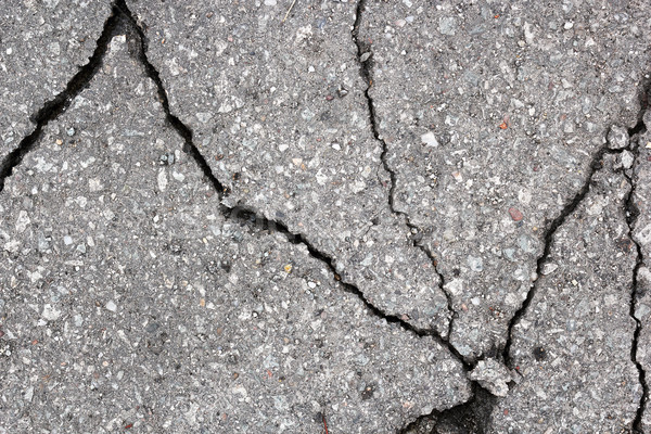 Grietas asfalto carretera calle Foto stock © taviphoto