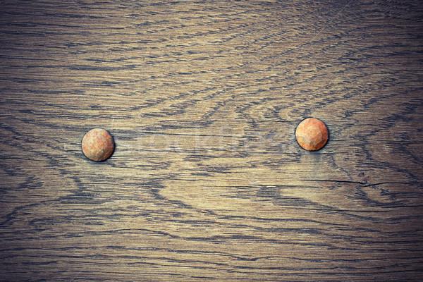 detail on old oak plank Stock photo © taviphoto