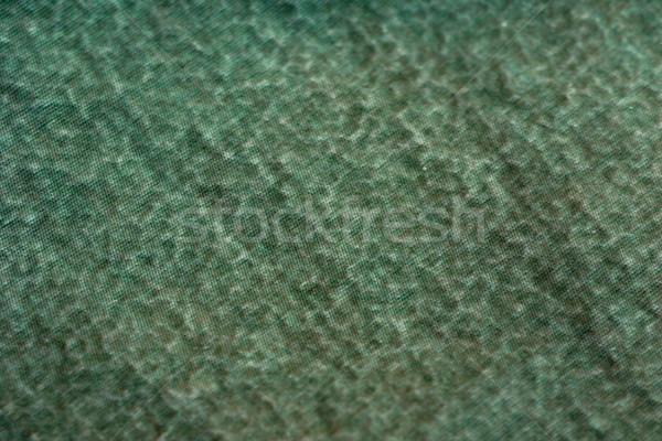 Stock fotó: Absztrakt · textúra · zöld · nedves · anyag · sérült