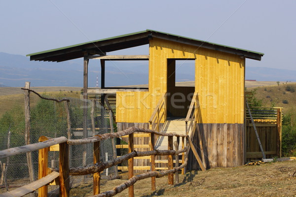 hunting hide structure Stock photo © taviphoto