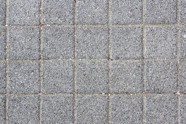 Asfalt tegels textuur grijs stedelijke voetganger Stockfoto © taviphoto
