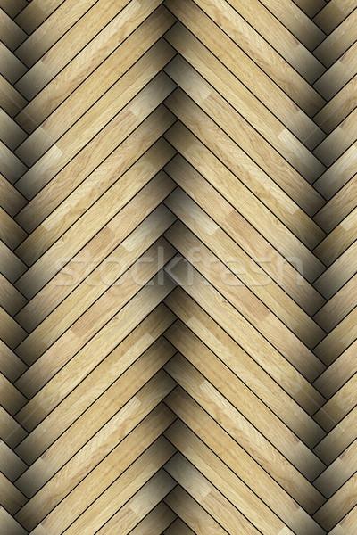 close up of laminated floor pattern Stock photo © taviphoto
