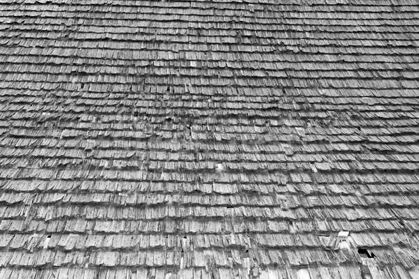 damaged traditional shingle roof Stock photo © taviphoto
