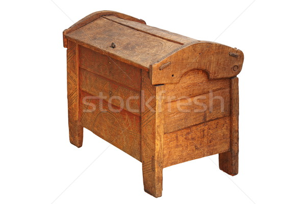 traditional dowry coffer Stock photo © taviphoto