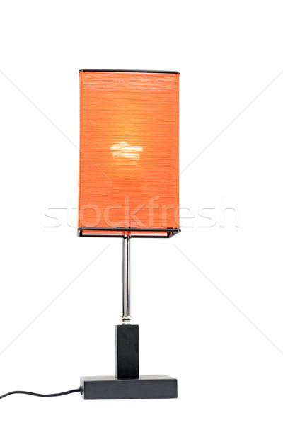 lantern on white Stock photo © taviphoto