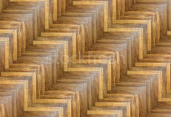 érdekes csíkos minta szög textúra padló Stock fotó © taviphoto