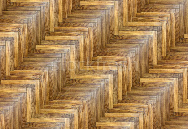 интересный полосатый шаблон угол текстуры полу Сток-фото © taviphoto