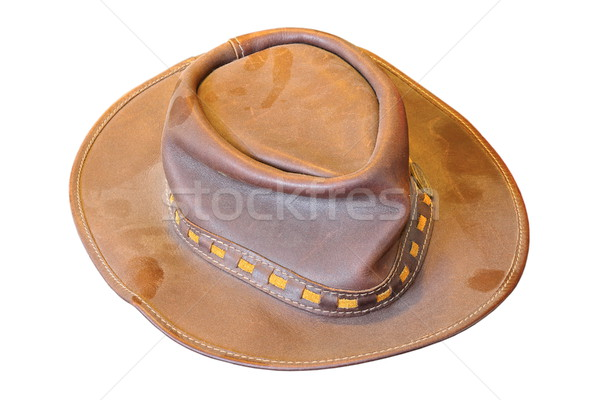 isolated old dusty hat  Stock photo © taviphoto