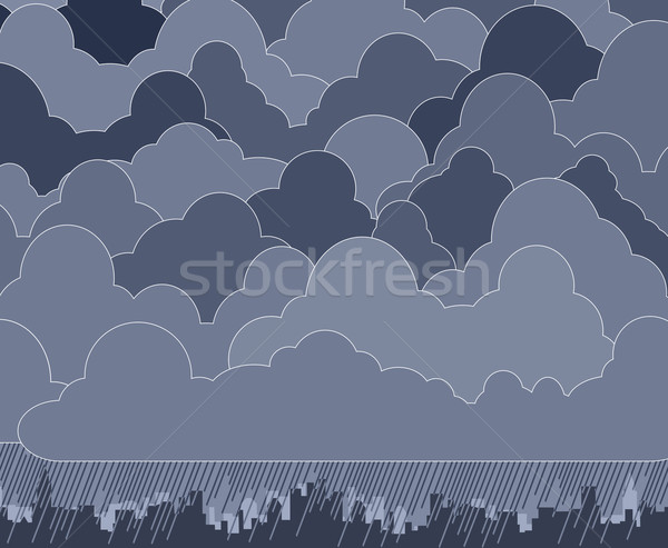 Cloudy Stock photo © Tawng