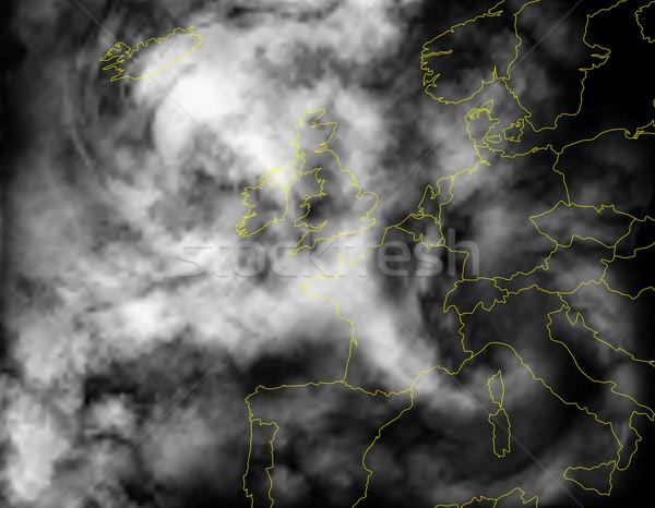 Europe cloud Stock photo © Tawng