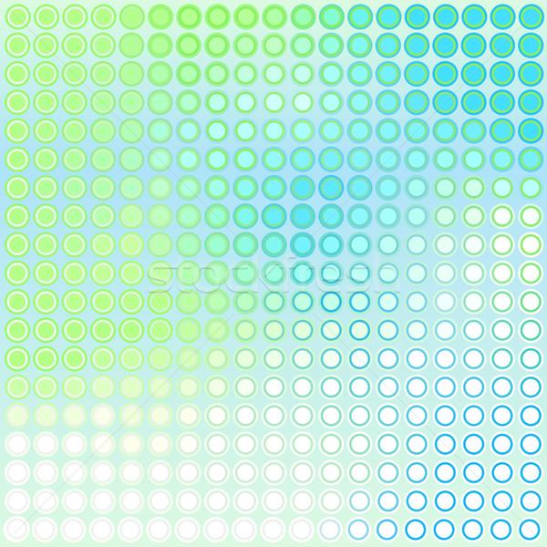Bleu vert résumé vecteur wallpaper Photo stock © Tawng