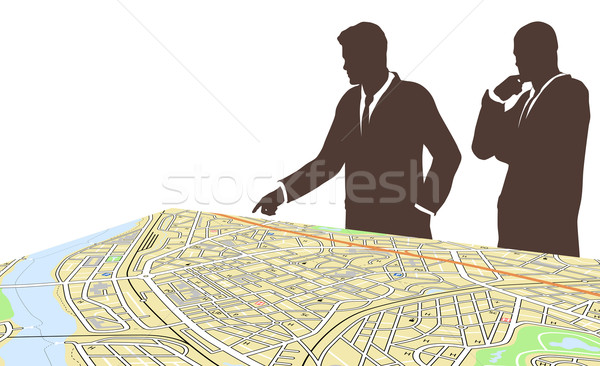 City planners Stock photo © Tawng